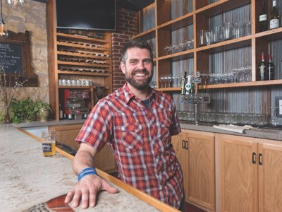 Small town chef & James Beard honoree Luke Zahm carries torch for local food