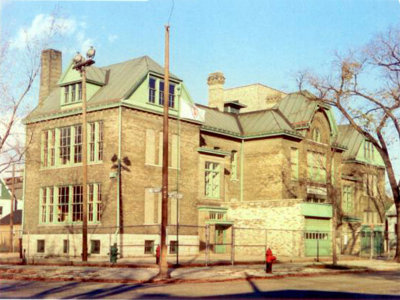 Madison Street was an early example of an adaptive reuse of a former school