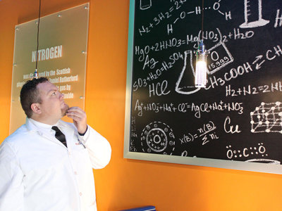 Cooler than cool: The nitrogen ice cream at Mad Science Creamery