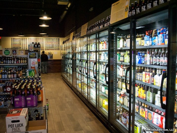 The Malt Shoppe offers beer, beer and more beer