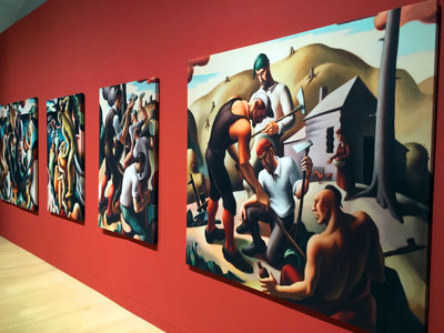 7 great works in MAM's new Thomas Hart Benton show
