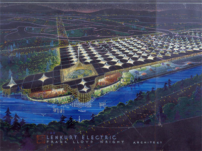 The drawings for the unbuilt Lenkurt Electric project are stunning.
