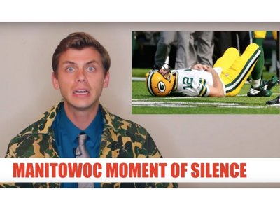 Mourn the loss of Aaron Rodgers with the Manitowoc Minute