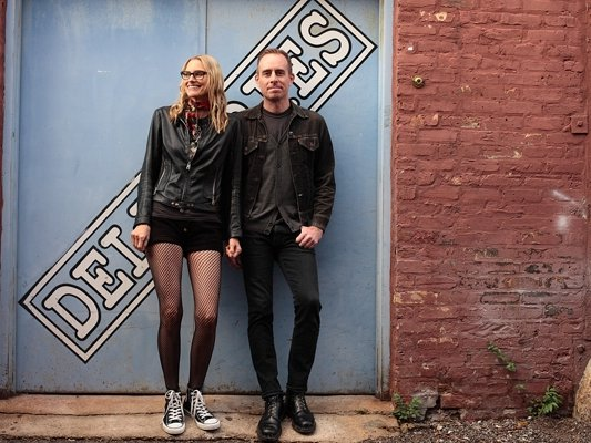 Aimee Mann and Ted Leo were inspired by the Bronze Fonz.