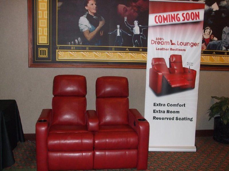 9e73a92d80e Marcus Theatres announced renovations today, including new DreamLounger  reclining seats at the South Shore and Menomonee Falls Cinemas.