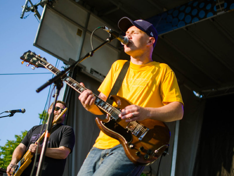 Milwaukee's Maritime drew a great crowd to the KNE New Music Stage at Summerfest Saturday night.