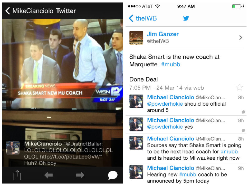 A sampling of some of the coverage from Monday regarding the Marquette men's basketball position.