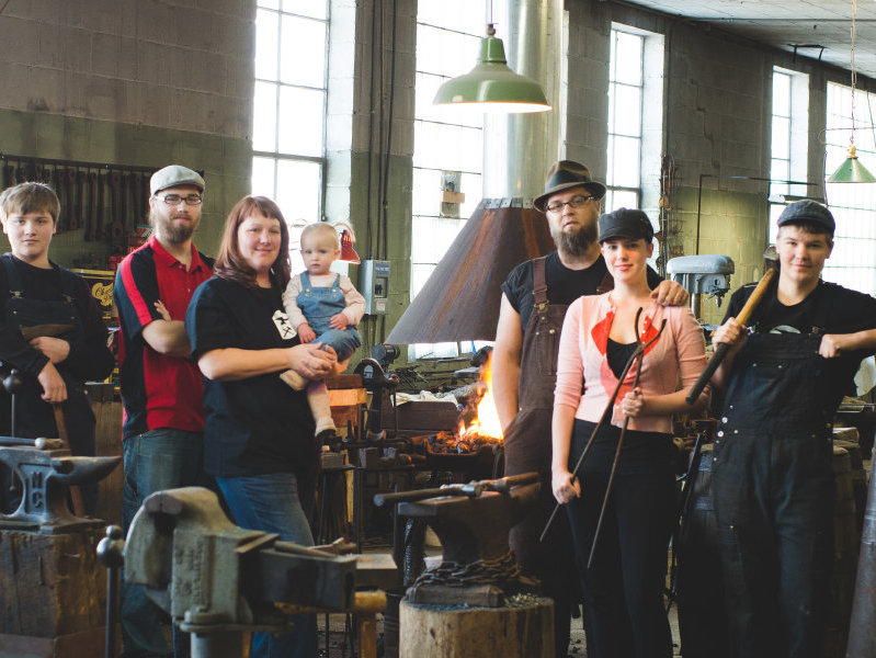 Milwaukee Blacksmith selected as finalist for Martha Stewart awards