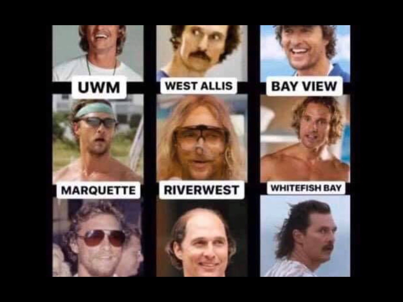 Which Matthew Mcconaughey Is Your Milwaukee Neighborhood
