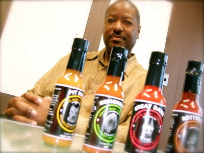 Locally made hot sauce turns up the heat