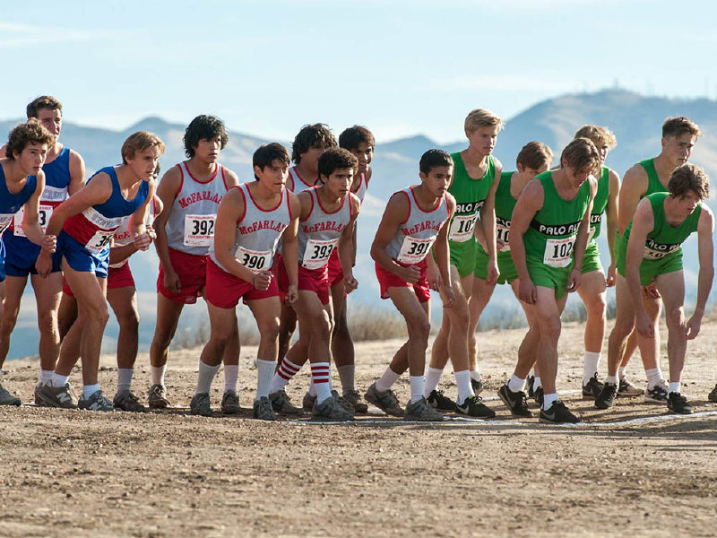 "The film, ""McFarland, USA,"" doesn't disappoint as an entertaining, and real, sports story."
