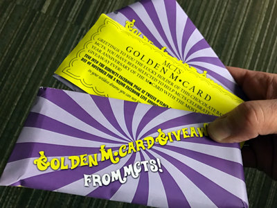 MCTS goes Wonka on M*Card anniversary