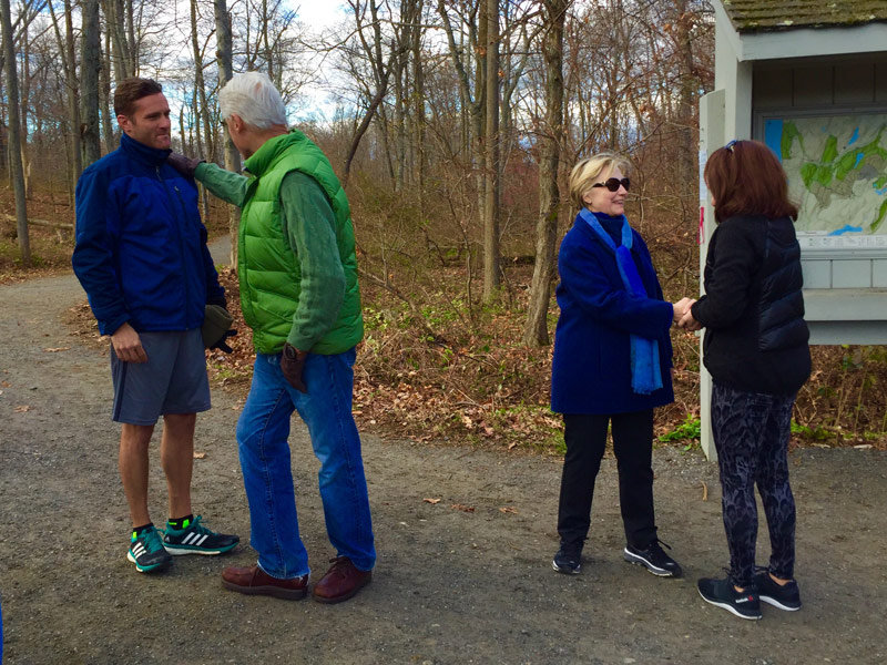 Milwaukee therapist finds her own comfort in chance Clinton encounter Image