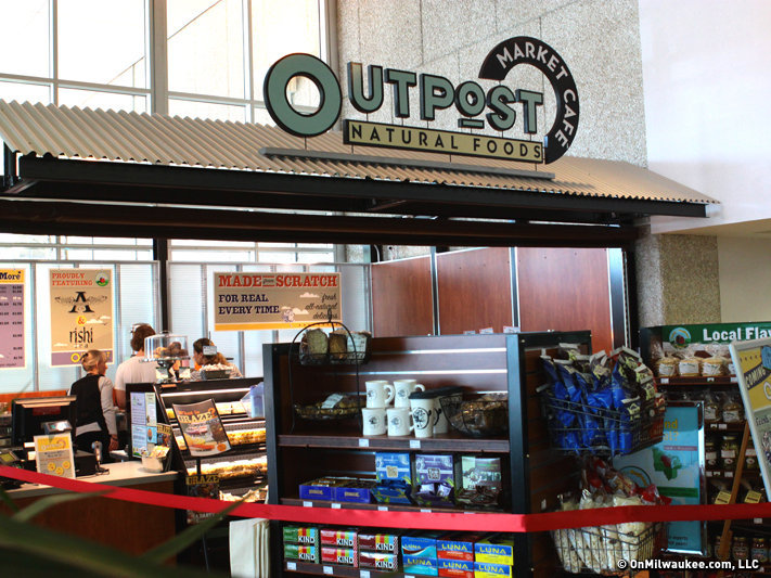 Outpost's Market Cafe was the most recent new development.
