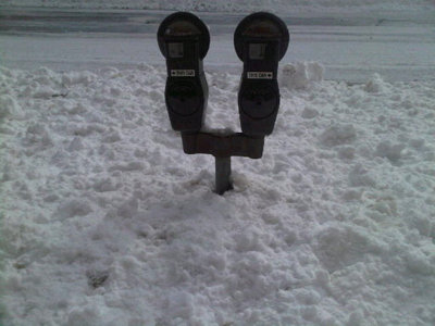 If you can't get to the parking meter, will you get a ticket? Image