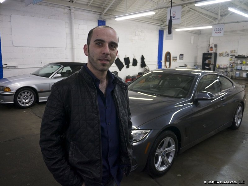 Grilling hot dogs to detailing cool cars muna puts customers first