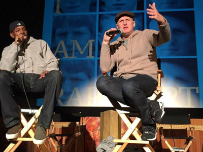 Before Sprewell live show, Michael Rapaport talks J-Kidd, Bucks love, Delly hate