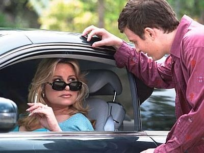 """Stifler's mom"" (Jennifer Coolidge) gets the ""MILF"" tag in ""American Pie."""
