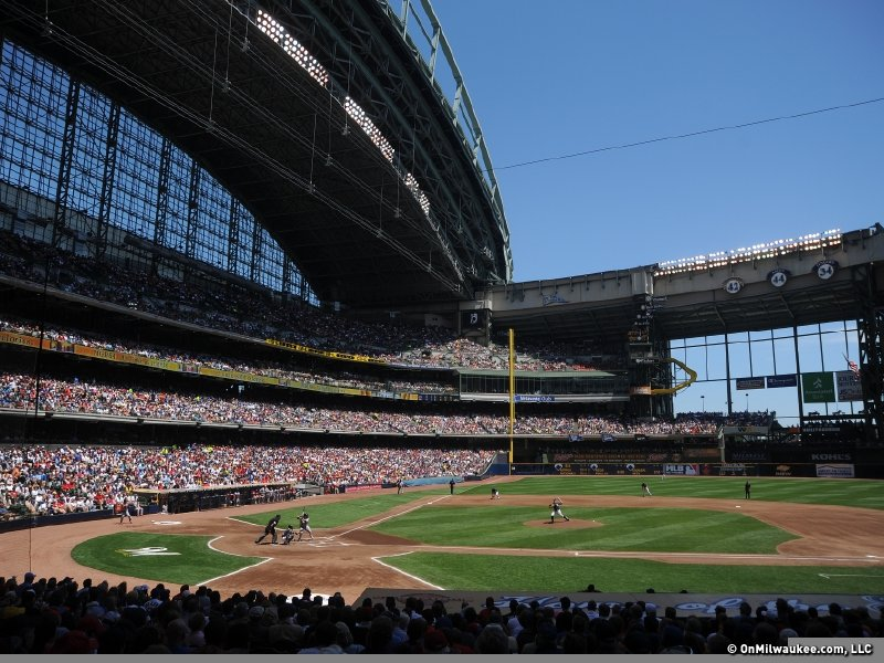 Onmilwaukee Com Sports Hey Mlb Leave The Roof Open
