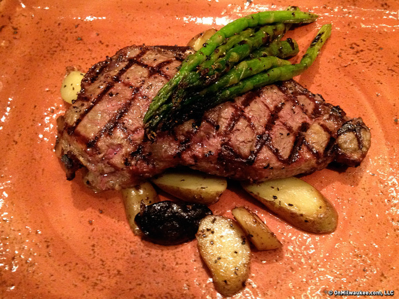 The tallow-brushed New York Strip has been on the menu from the start and is a popular favorite.