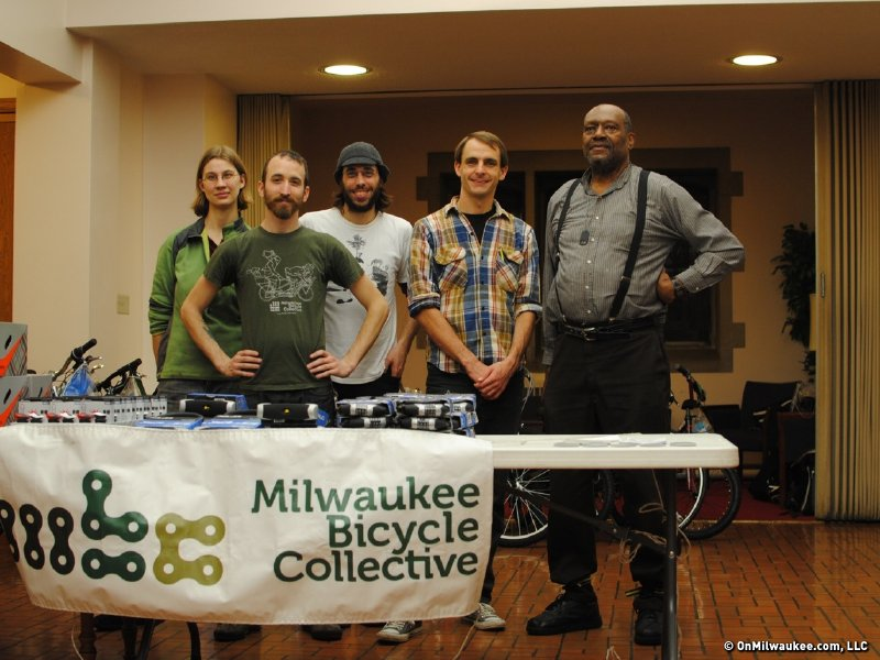 The Milwaukee Bicycle Collective worked hard on this contest.