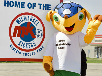 Kickers host World Cup viewing party