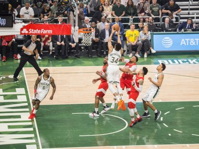 6c251dd54be Get pumped up for a Bucks comeback with Milwaukee's Playoff Radio