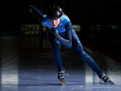 Milwaukee Talks: Speedskater and Olympic medalist Alyson Dudek