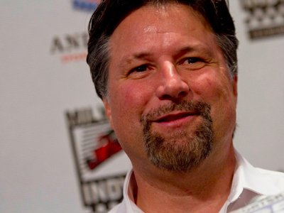Michael Andretti Talks
