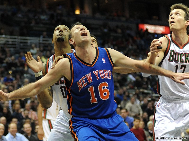 online store 4812d 8f87d Milwaukee Talks: New York Knicks forward Steve Novak ...