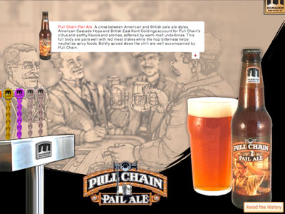 Have you tried the Pullchain Pale Ale, by the way? Yum.