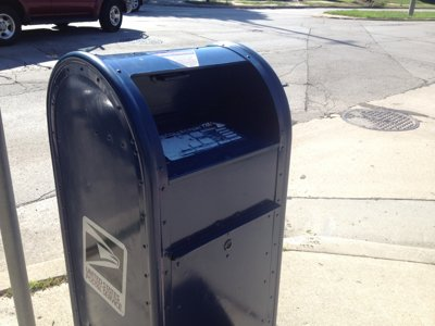 Have you noticed a lack of blue mailboxes?
