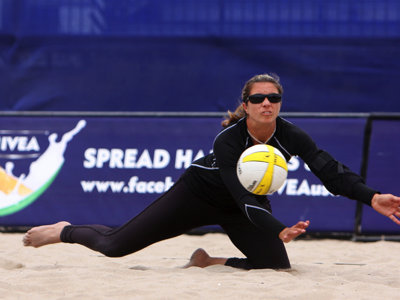 Olympic gold medalist May-Treanor highlights volleyball competition
