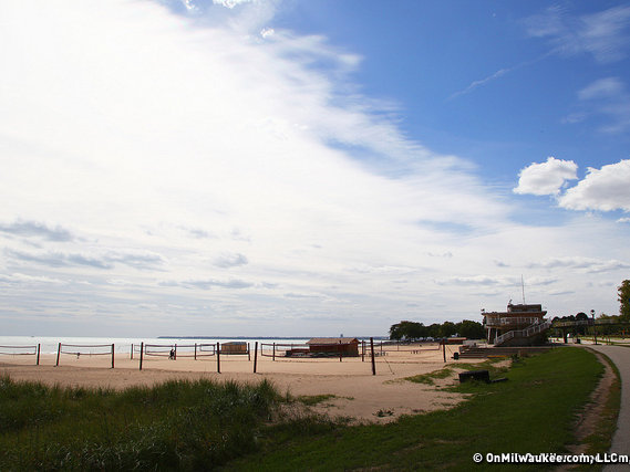 Bradford Beach is just one of Milwaukee's great beaches.