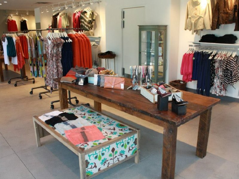 Open boutique clothing store