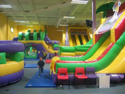 Parents' sound-off: Monkey Joe's or Pump It Up?