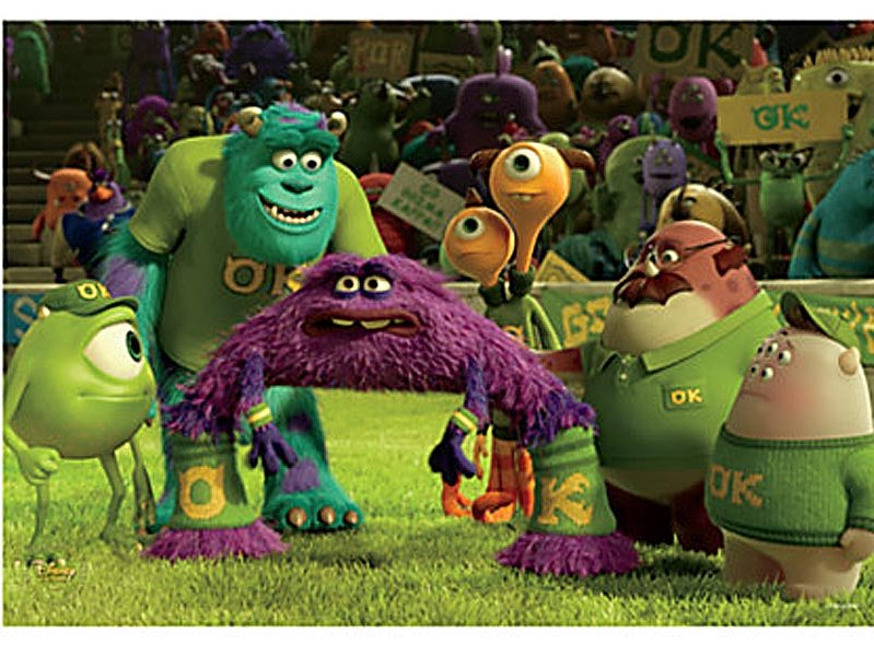 monsters university entertains shares glimpse into animation