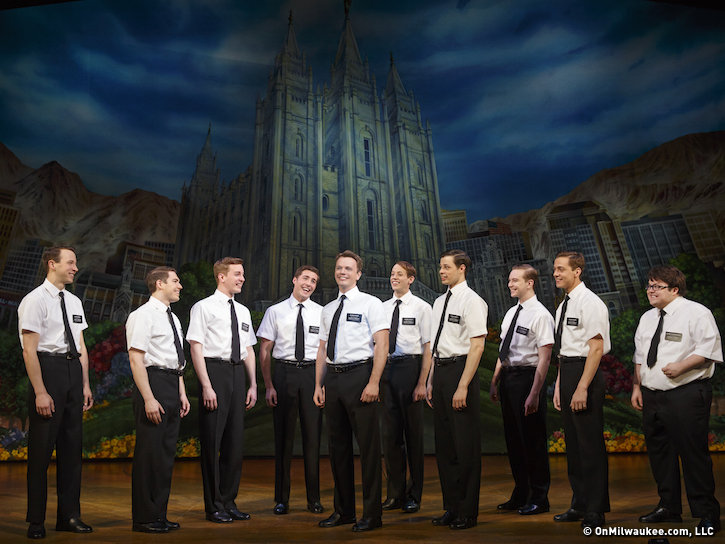 "The boys from ""The Book of Mormon"" have landed at the Marcus Center."