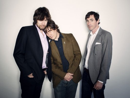 Jon Wurster, John Darnielle and Peter Hughes of the Mountain Goats play The Pabst tonight.