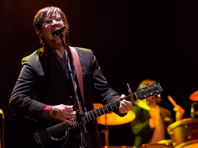Frontman John Darnielle performs with the Mountain Goats Tuesday night at The Pabst.
