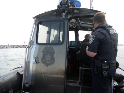 Afloat with the force: A day on the water with the MPD Harbor Patrol