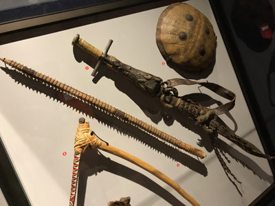 New weaponry show Image