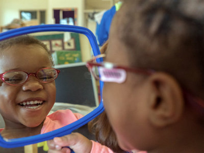 These 6 photos of MPS kids getting free glasses will make your day