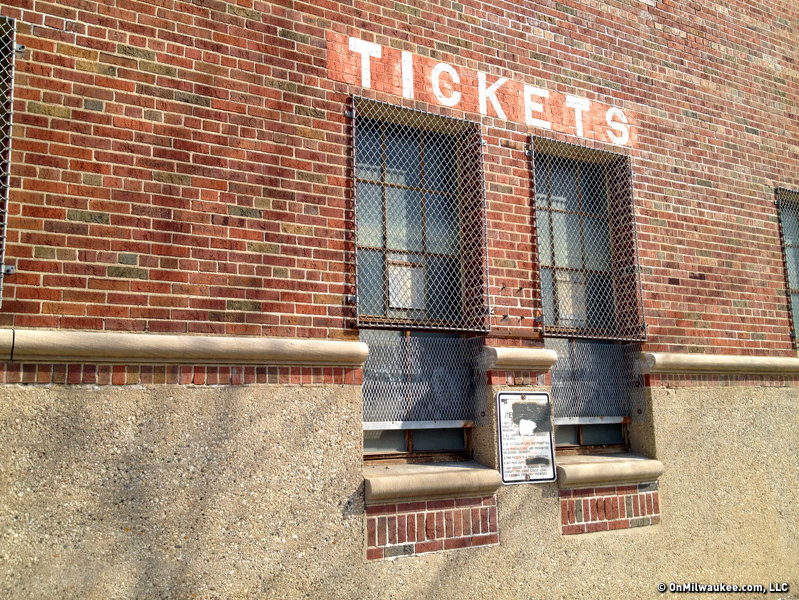 One set of ticket windows that will never again open.
