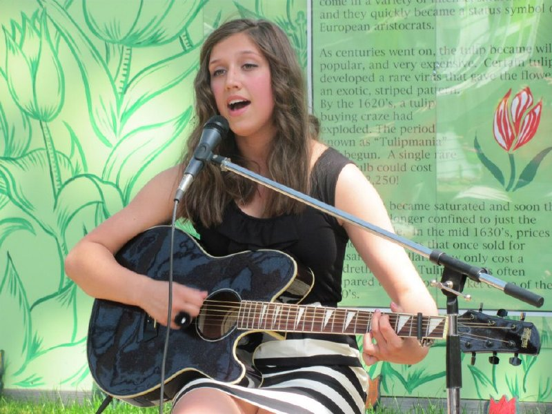 Hannah Mrozak, 14, of Richfield will be a judge at this year's Milwaukee's Got Talent competition.