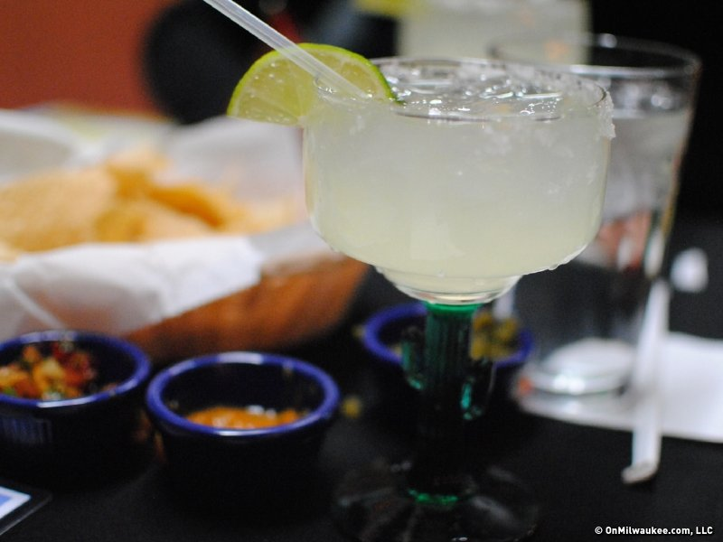 Order a margarita on the rocks and it's made from scratch.