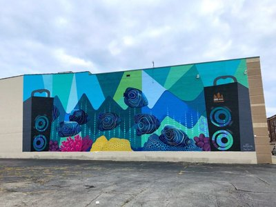 Two more murals emerge in Milwaukee
