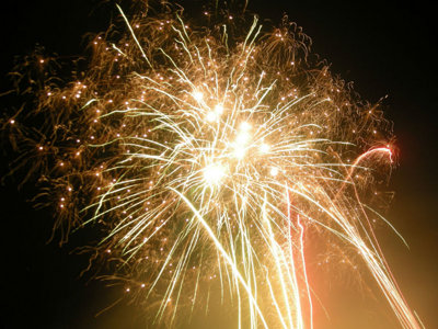 Fireworks offer explosive fun on the Fourth, but what is legal to use at home? Image