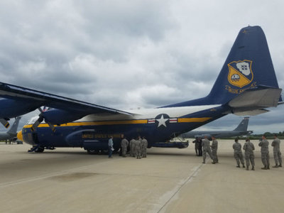 I flew on Blue Angels support plane Fat Albert and want to feel zero-g forever