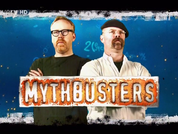 Are myth busters gay